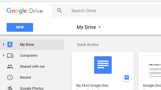 Image of My Drive