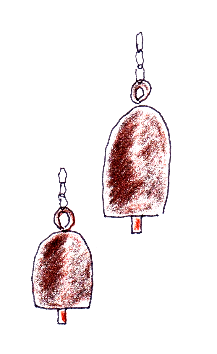 drawing of gas cylinder bells