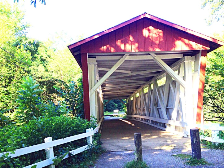 Photo of bridge entrance closed to traffic